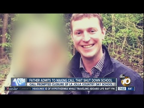 Father admits making call that shut down La Jolla Country Day School