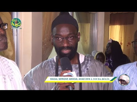 Interview avec Serigne Ababacar Mboup | Magal S. Abdoul Ahad 2018 à Touba Bélél