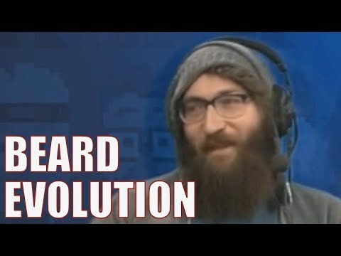 Tom Clark's Beard Evolution 2017