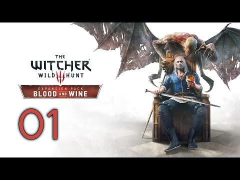 The Witcher 3: Blood and Wine PC 100% Walkthrough 01 Envoys, Wineboys