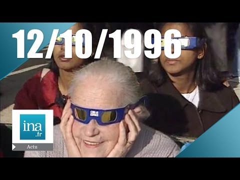 20h France 2 du 12 octobre 1996 - Eclipse solaire en France | Archive INA