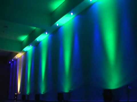 Iluminaci n perimetral con par 64 led youtube - Iluminacion con leds ...