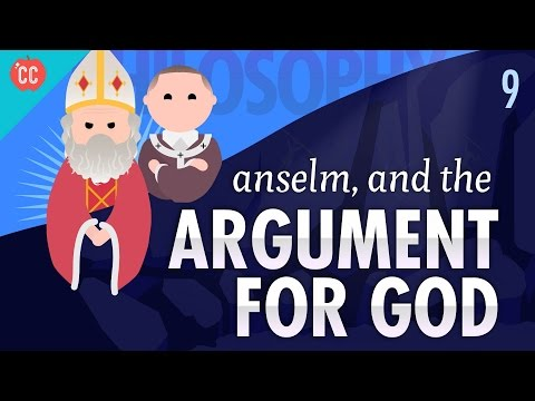 Thumbnail: Anselm and the Argument for God: Crash Course Philosophy #9