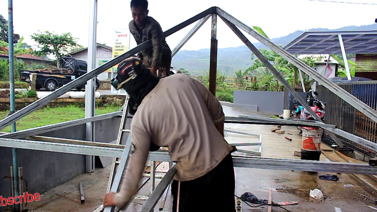 Cara Bikin Joglo Gazebo How To Make A Gazebo Versicu2t Youtube