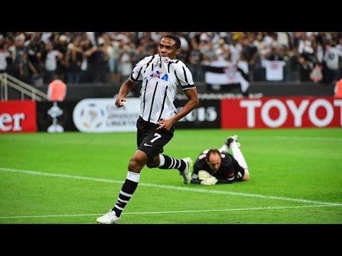 Corinthians 2 x 0 São Paulo - Libertadores  - 1802 - Narração Nilson César