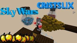 Играю в Скай варс\|/SkyWars cristalix pe\|/кристаликс ПЕ
