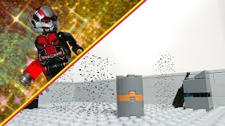 Ant Man and the Wasp mid credit scene in lego/Avengers IW #21