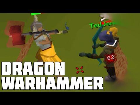 Dragon Warhammer Pking on Maxed Zerker: Oldschool Runescape 2007