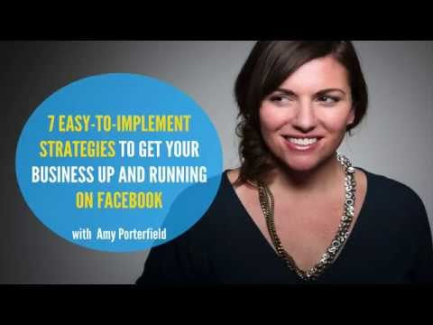 Facebook Strategy Amy Porterfield