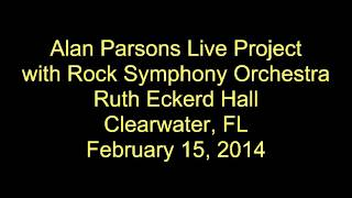 Alan Parsons Live Project - Hall Clearwater, FL - February 15, 2014