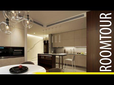 Обзор квартиры с 3-х метровым мрамором на стенах / Дизайн интерьера / S= 150 м2 / Обзор / Часть 1