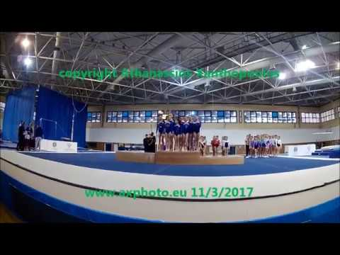 AG Medal Awards, Team & Individual Championship North Greece, Mikra, Thessaloniki, 11/3/2017
