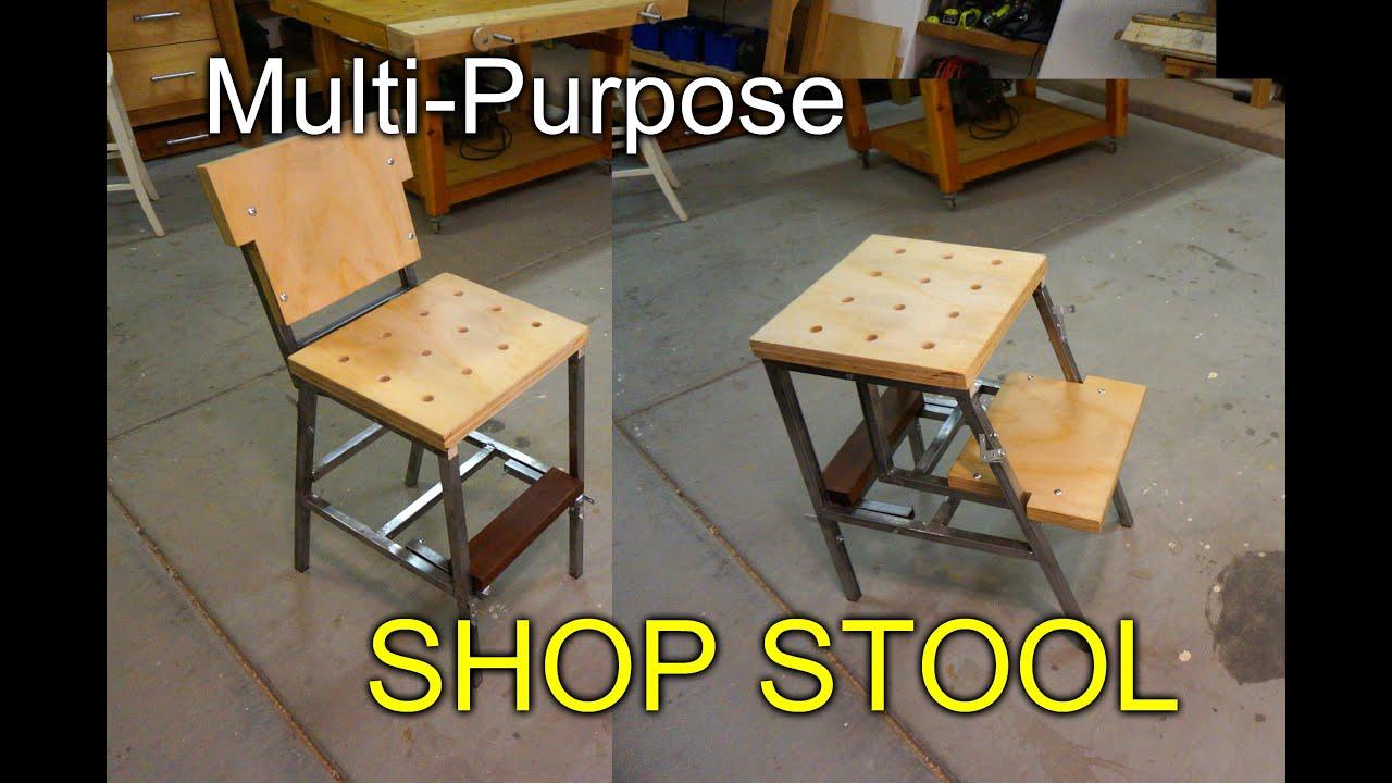 Multipurpose Shop Stool aka the Dual Stool