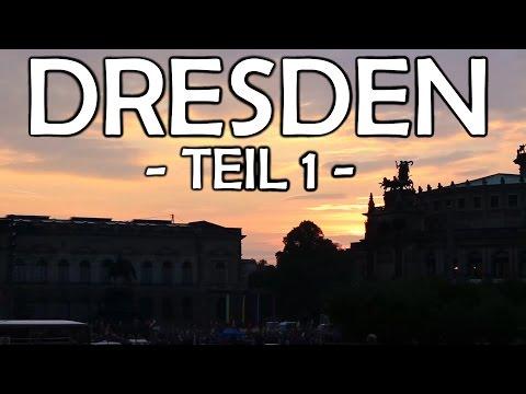 DRESDEN-Trip #1 - Krasse Zugfahrt... KONTRASTE! Hannover... [VLOG]