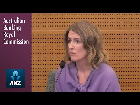 An ANZ Chief Risk Officer testifies at the Banking Royal Commission