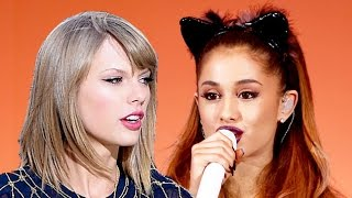Ariana Grande Performs & Taylor Swift Dissed At CMA Awards
