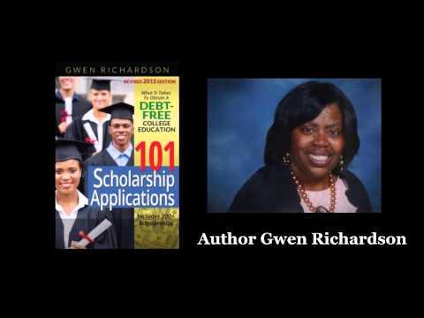 101 Scholarship Applications by Gwen Richardson - Book Trailer