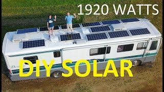 Massive DIY RV Solar Install for Off Grid Boondocking