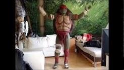 Rick´s teenage mutant ninja turtle costume 2014