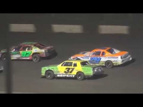 Lakeside USRA Nationals Thursday B Mods Stock Cars Mains