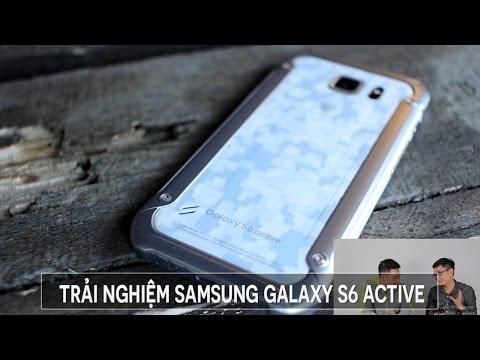 Trải nghiệm Samsung Galaxy S6 Active cùng thành viên Hỏi đi đáp luôn
