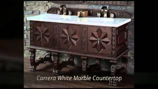 Balmoral Designer Collection Bathroom Vanities - Solid Wood - Homethangs.com