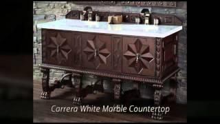 Balmoral Designer Collection Bathroom Vanities - Solid Wood - Homethangs.com