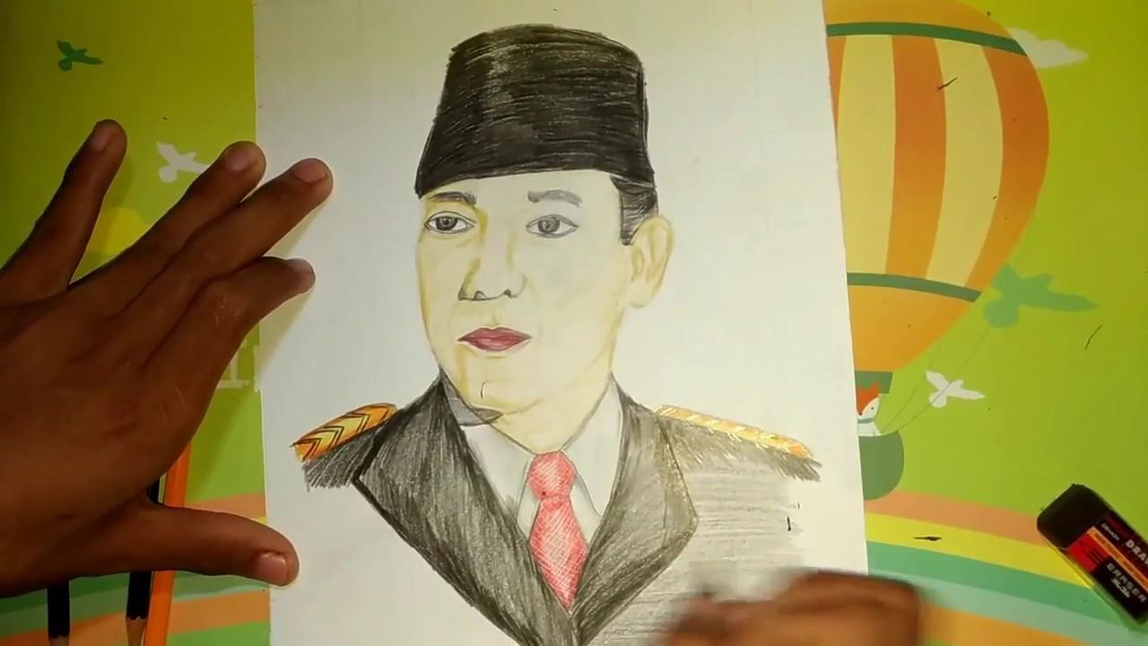 Gambar Ir Soekarno Pahlawan Indonesia Youtube