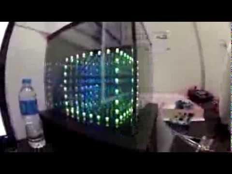 BETT 2014 - MATRIX LED cube, electrical circuits and game development