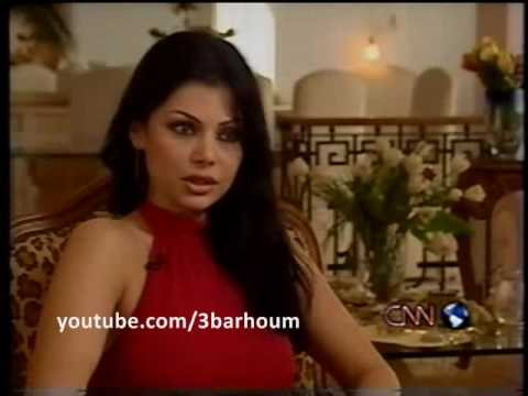 Haifa Wehbe on CNN - 'Inside the Middle East' 2002