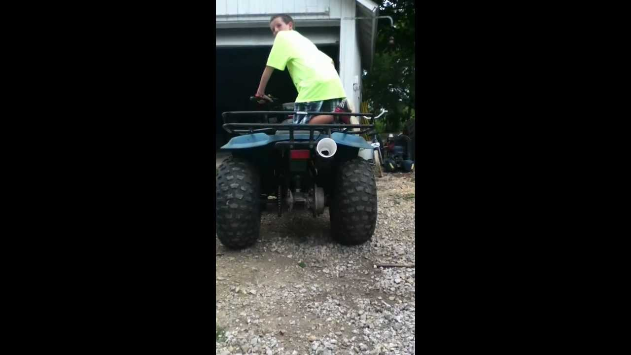 how to make an exhaust louder on a