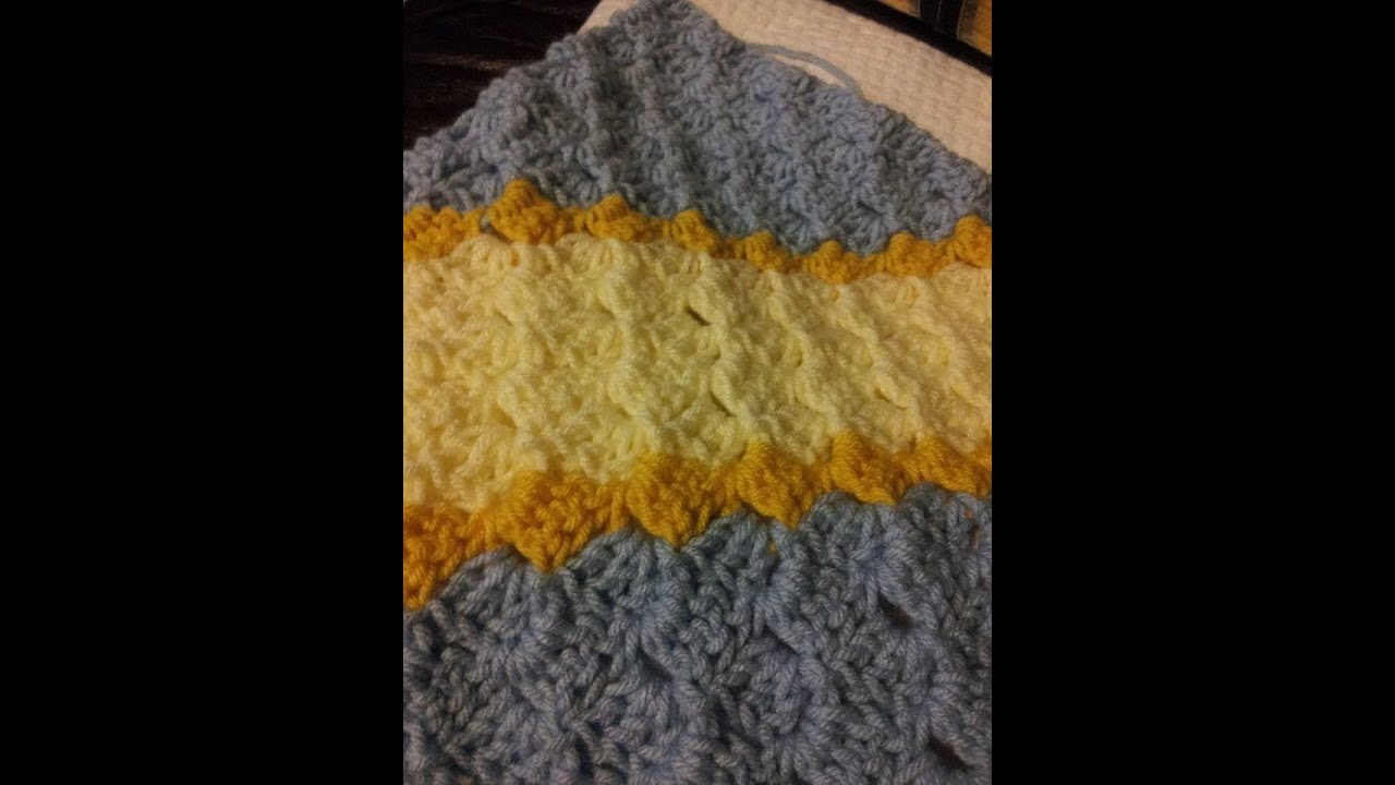 Easy Crochet C2c Blanket Left Handed Corner To Corner Blanket