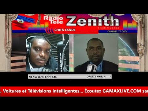 CHITA TANDE - ZENITH FM HAITI  SUR  RADIO TÉLÉ GAMAX LIVE & LES RÉSEAUX AFFILLIÉS...