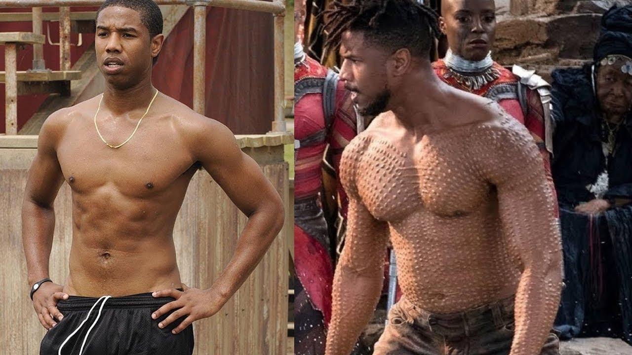0392aa654f0 Michael B. Jordan Body Transformation for Black Panther - YouTube