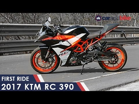 2017 ktm rc 390 review - ndtv carandbike - youtube