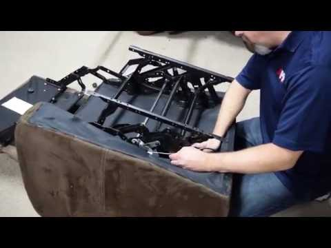 HowTo Remove and Reinstall a Reclining Mechanism  YouTube