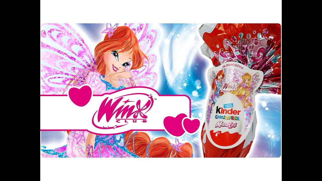 Winx Club Scopriamo Insieme Luovo Di Cioccolato Kinder