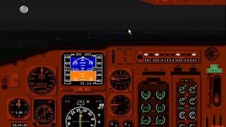 Microsoft Flight Simulator 98 | Challenge: Beautiful Bay Area Night | Boeing 737