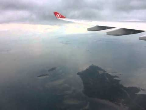 Istanbul to Singapore~Turkish Airlines TK54