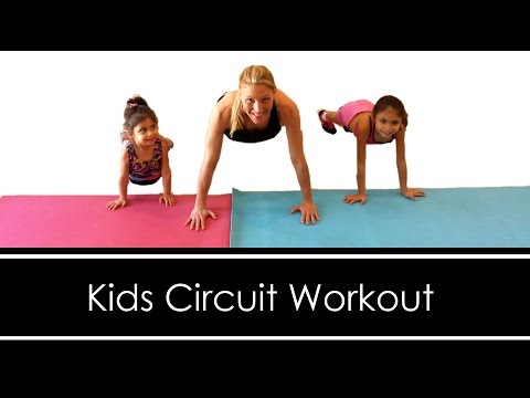 TOTAL BODY CIRCUIT: YOU CAN DO WITH YOUR KIDS!