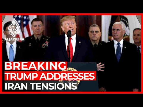 Trump Addresses Iran Tensions After Attack On US Troops In Iraq