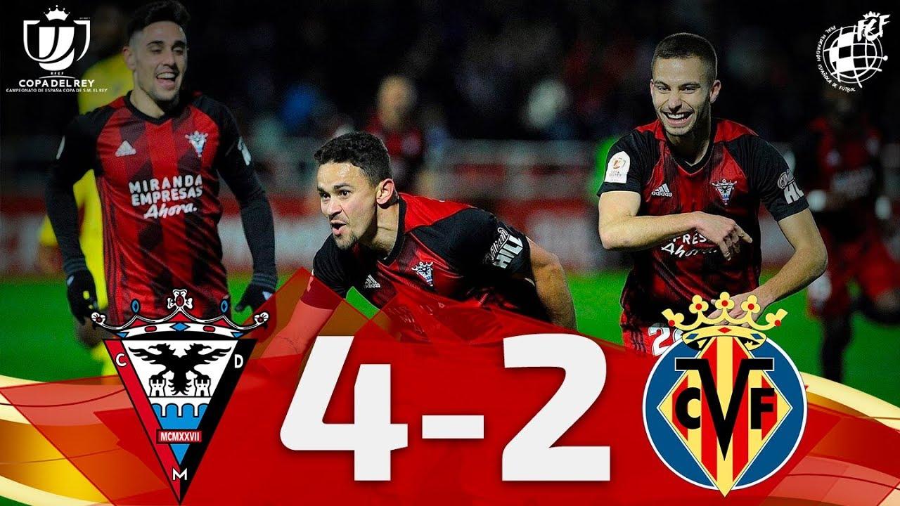 Download Copa del Rey | Cuartos de final|CD Mirandés 4-2 Villarreal CF