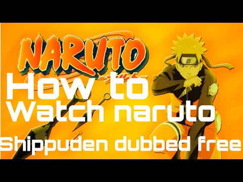 watch naruto shippuden english dubbed online free