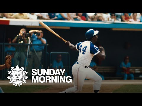 Passage: Baseball great Hank Aaron