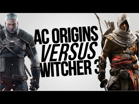 Assassin's Creed Origins VS The Witcher 3   Which Is The Better Open World Game?