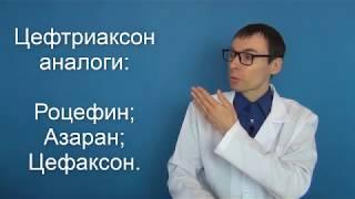 ЦЕФТРИАКСОН. Инструкция по применению, аналоги антибиотика