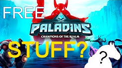 ♥️What is the REDEEM CODE for Paladins 2019