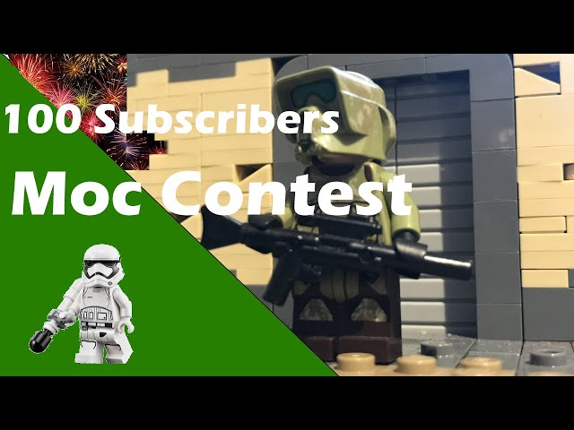 100 Subscribers Moc Contest/ English/German