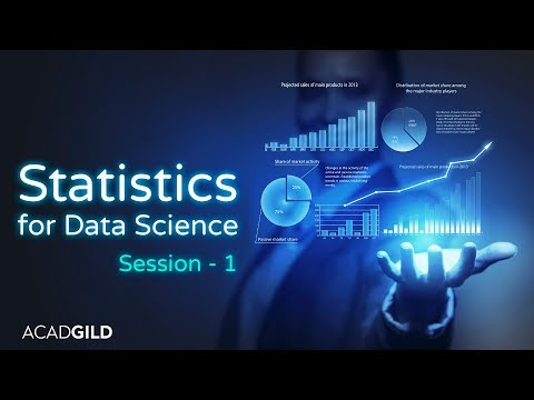 Statistics Tutorial for Data Science 2018 Part-1| Introduction to Statistics | Data Science Tutorial