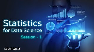 Statistics Tutorial for Data Science 2018 Part-1| Introduction to Statistics | Data Science Tutorial